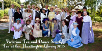 VTDS Tea at the Huntington Library 2015